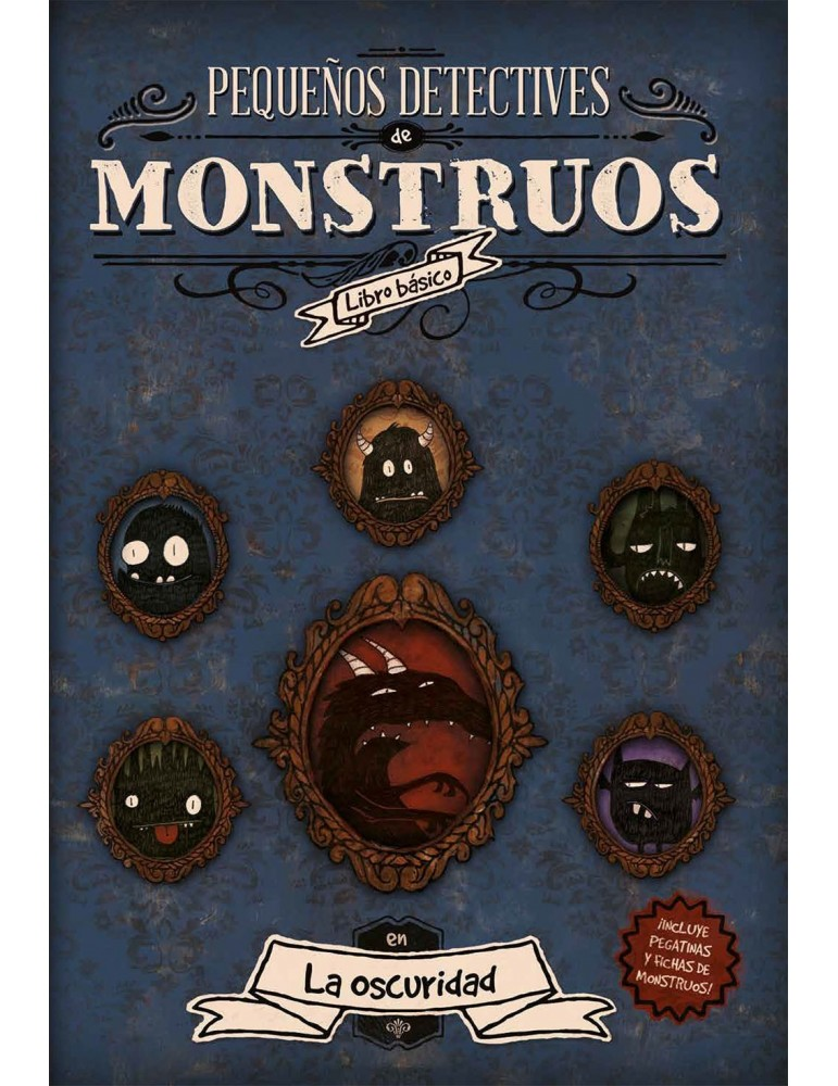 Pequeños detectives de monstruos + Copia Digital