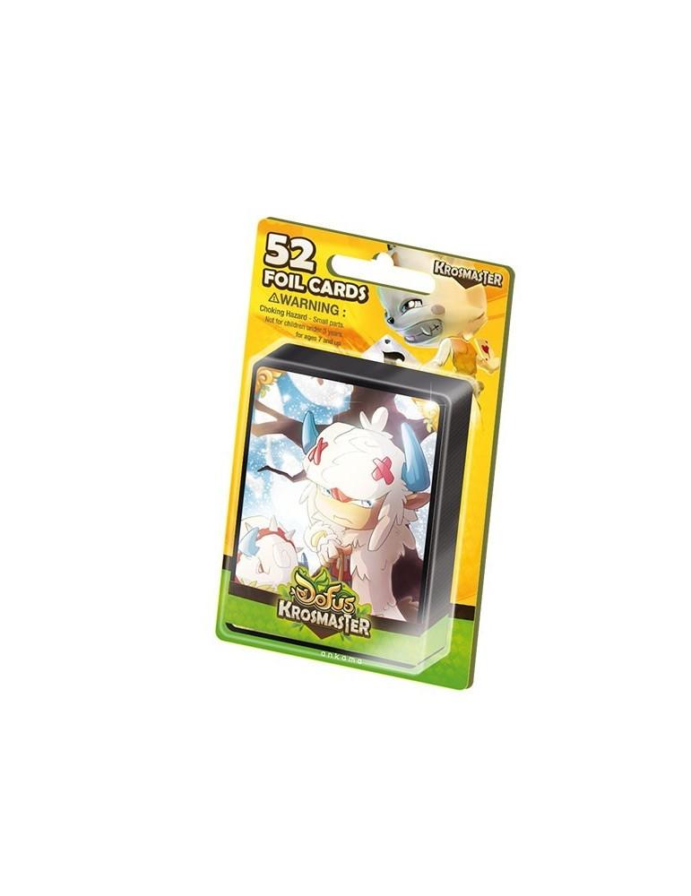 Krosmaster: Pack de 52 Cartas Foil (Castellano)