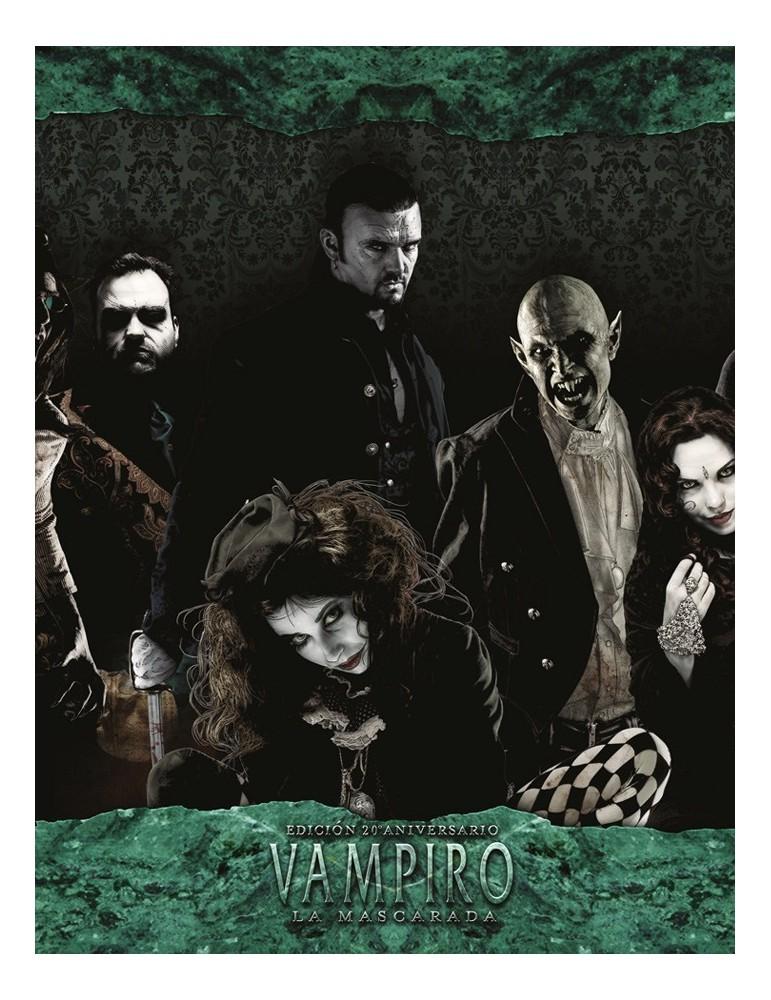 Vampiro: La Mascarada 20 Aniversario - Pantalla del Narrador + Copia Digital