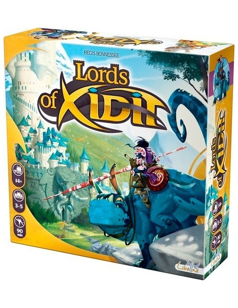 Lords of Xidit (Inglés)