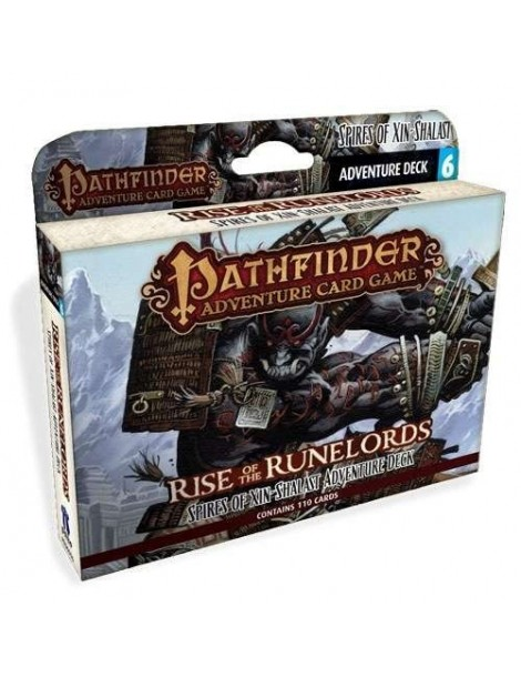 Pathfinder Adventure Card Game: Rise of the Runelords - Spires of Xin-Shalast Adventure Deck (Inglés)