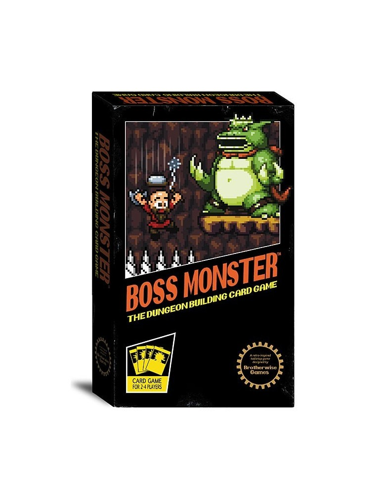 Boss Monster: The Dungeon Building Card Game (Inglés)