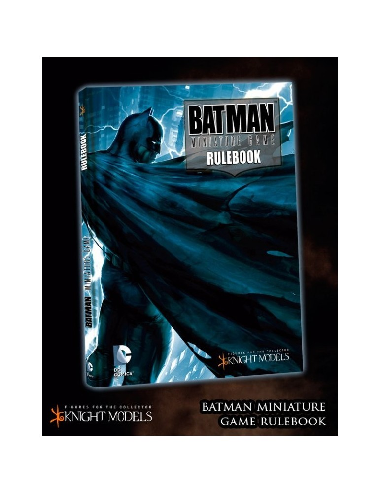 Batman Miniature Game: Rulebook (Inglés)
