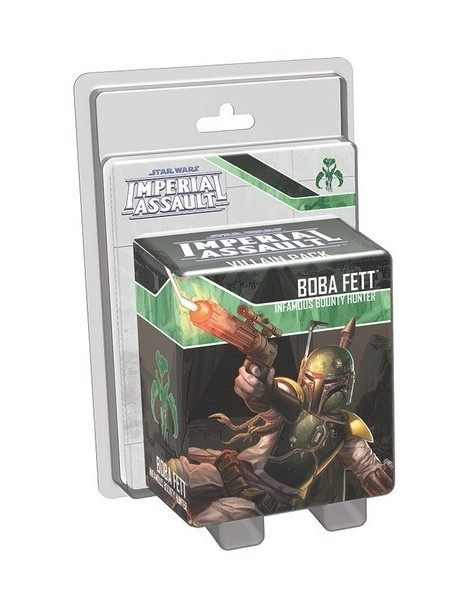 Star Wars: Imperial Assault - Boba Fett Villain Pack (Inglés)