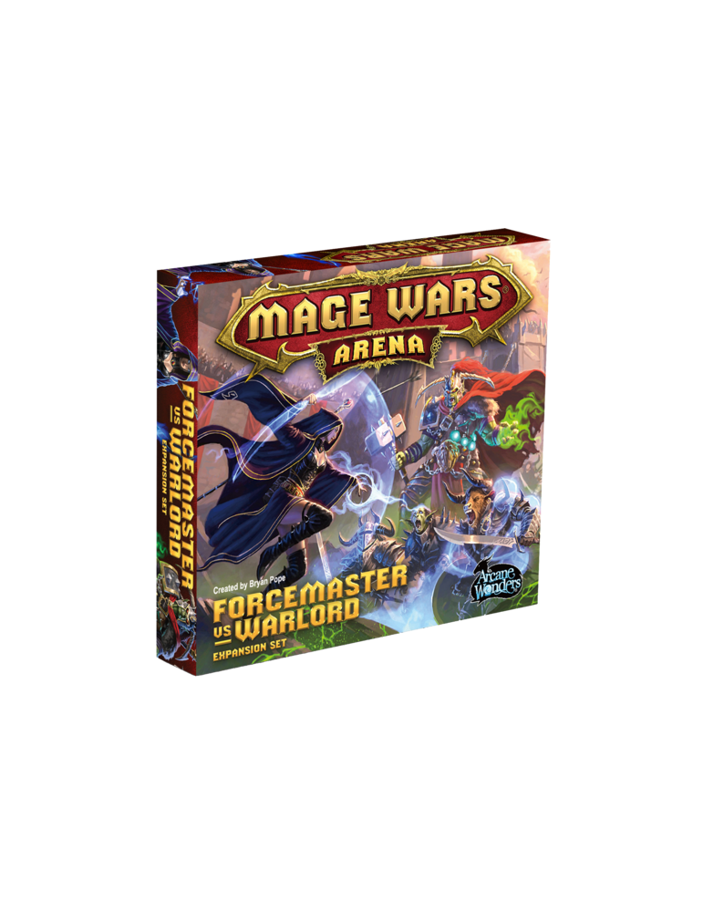 Mage Wars: Forcemaster vs. Warlord