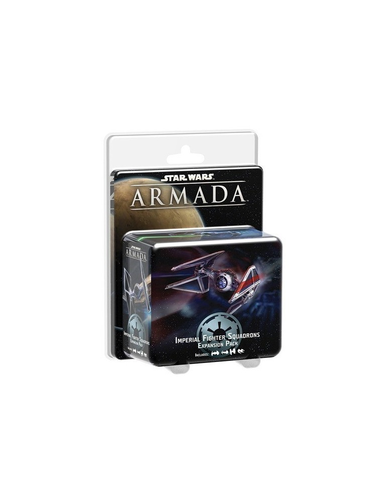 Star Wars: Armada – Imperial Fighter Squadrons Expansion Pack (Inglés)