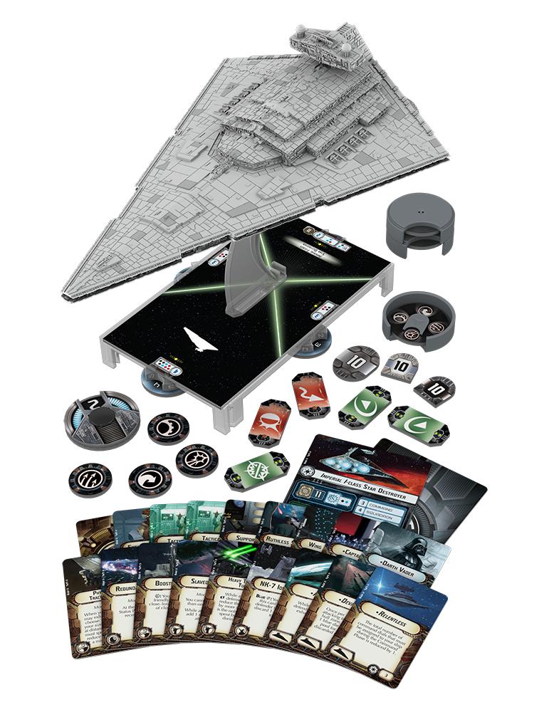 Star Wars: Armada - Imperial Class Star Destroyer Expansion Pack (Inglés)