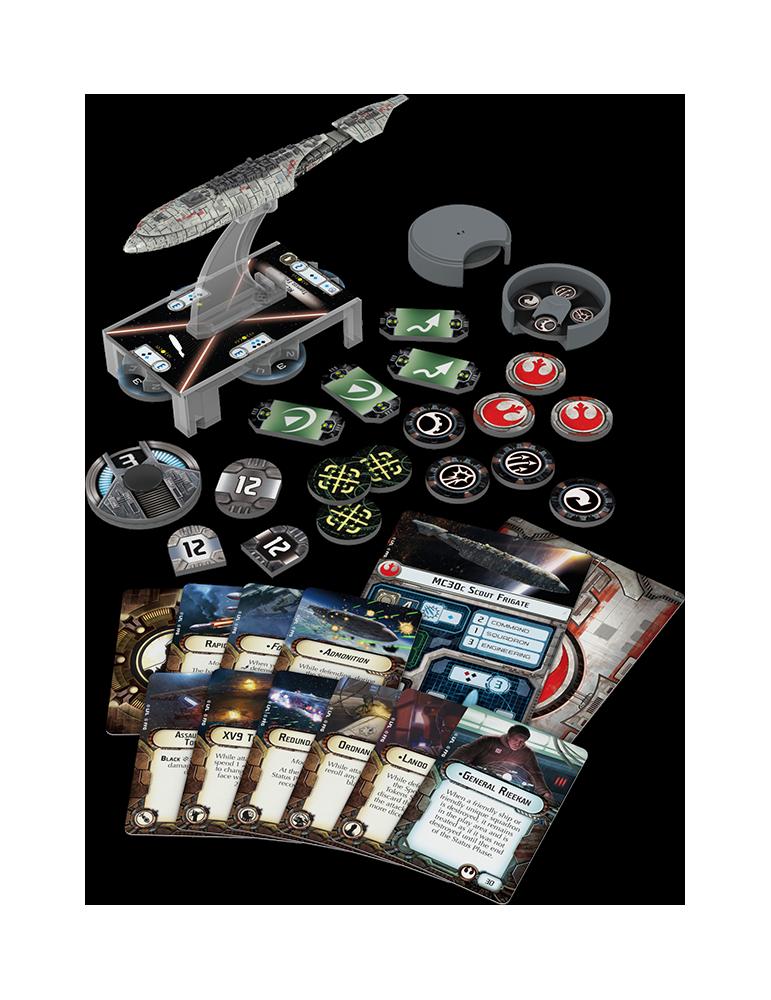 Star Wars: Armada – Mon Calamari Frigate Expansion Pack (Inglés)