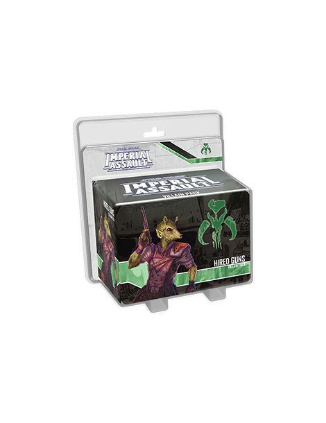 Star Wars: Imperial Assault - Hired Guns Villain Pack (Inglés)