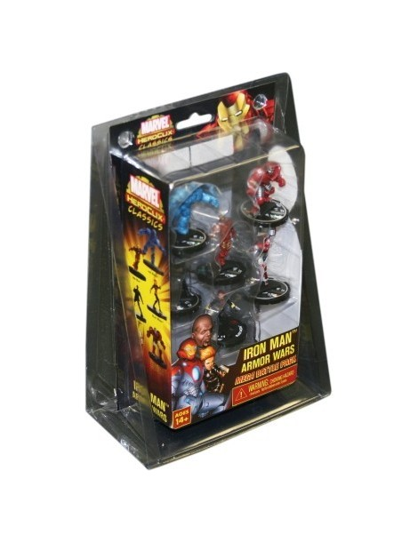 Marvel HeroClix Iron Man Armor Wars Mega Battle Pack