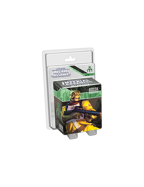 Star Wars: Imperial Assault - Bossk Villain Pack (Inglés)
