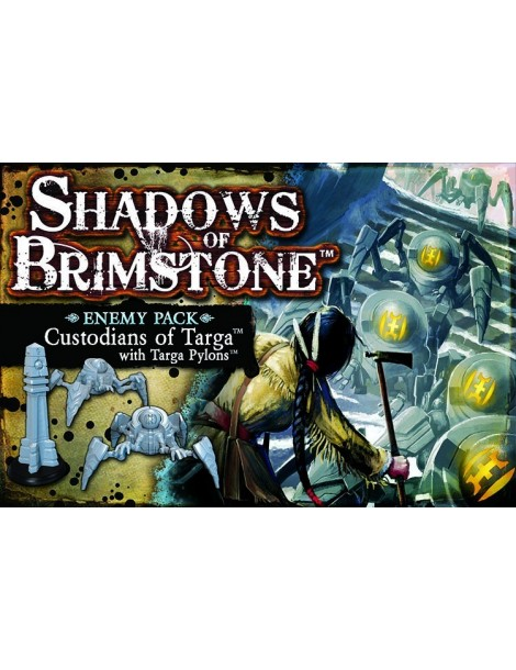 Shadows of Brimstone: Custodians of Targa with Targa Pylons Enemy Pack