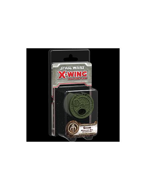 X-Wing: Kit de actualización de selector de maniobra Escoria y Villanos