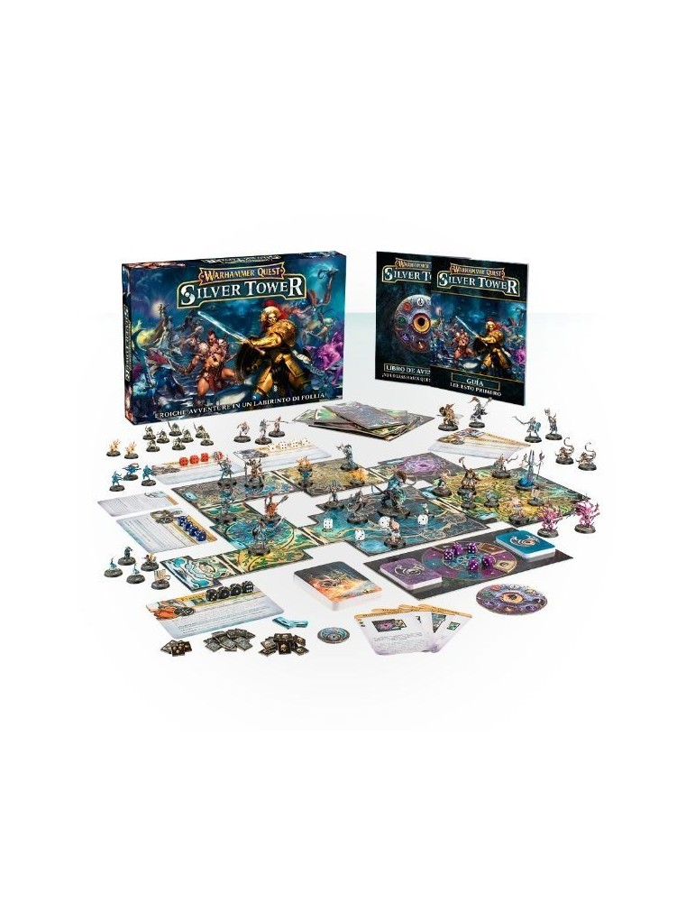 Warhammer Quest: Silver Tower + Promo