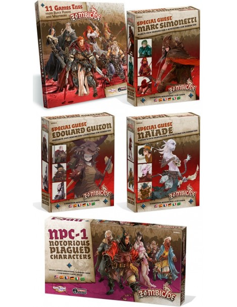 Zombicide: Black Plague - Expansion Pack 3