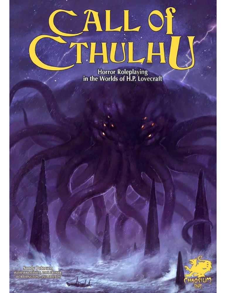 Call of Cthulhu 7th Ed. Keeper Rulebook