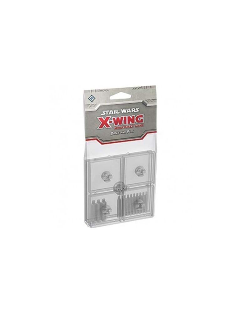 X-Wing: Peanas y clavijas transparentes