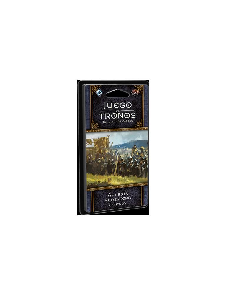 Juego de Tronos LCG 2ª Edición: Ciclo de la guerra de los Cinco Reyes - Ahí está mi derecho