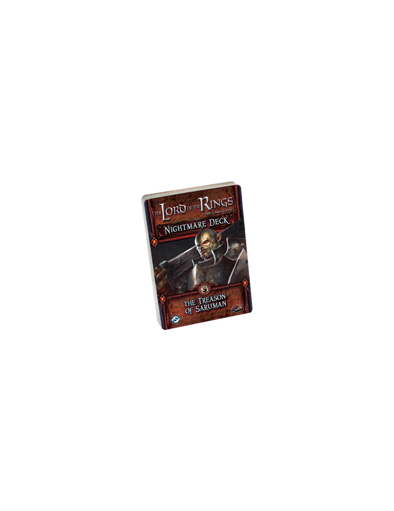 The Lord of the Rings: The Card Game - Nightmare Deck: The Treason of Saruman