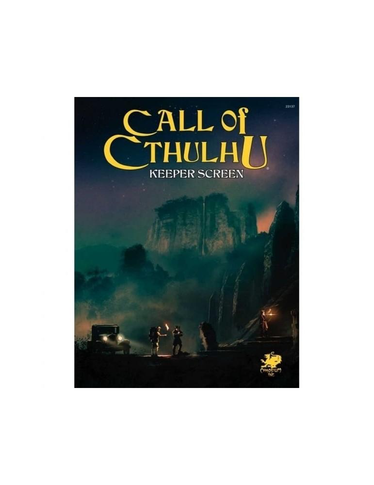 Call of Cthulhu 7th Ed. Keeper Screen Pack
