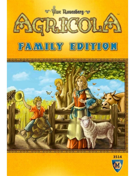 Agricola: Family Edition (Inglés)
