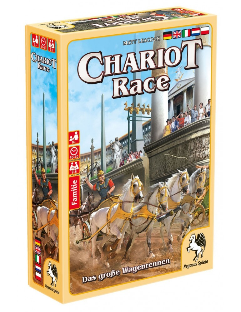 Chariot Race: The Great Chariot Race (Inglés)