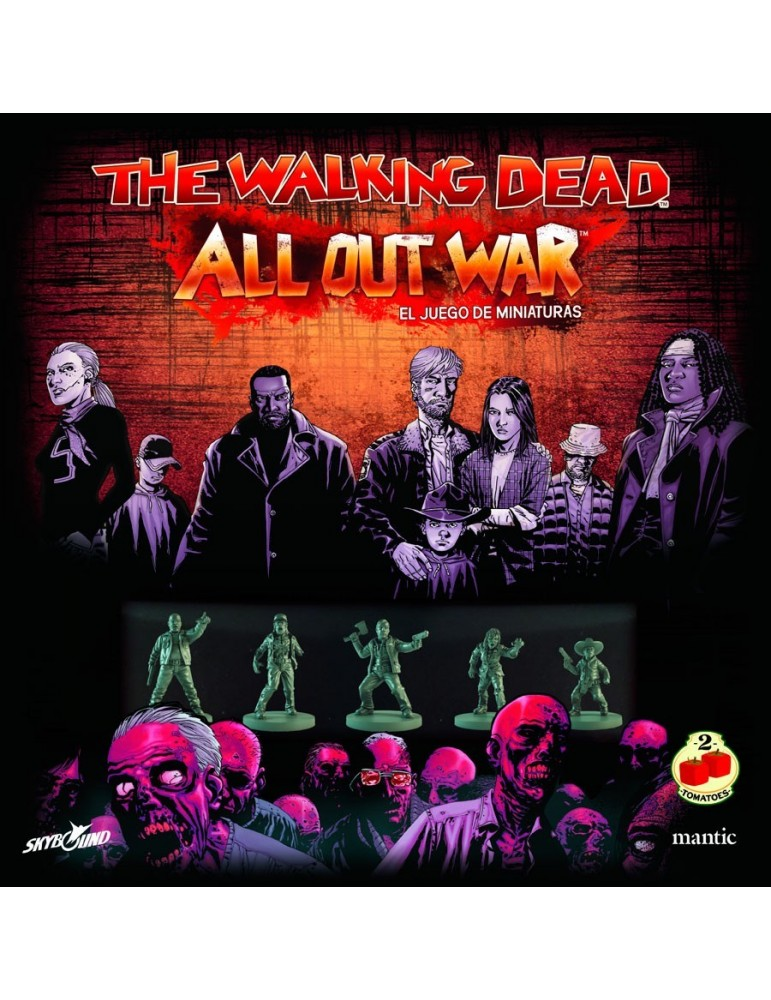 The Walking Dead: All Out War - Caja básica