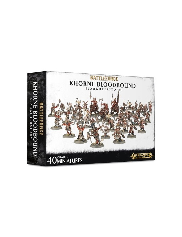 Battleforce: Khorne Bloodbound Slaughterstorm