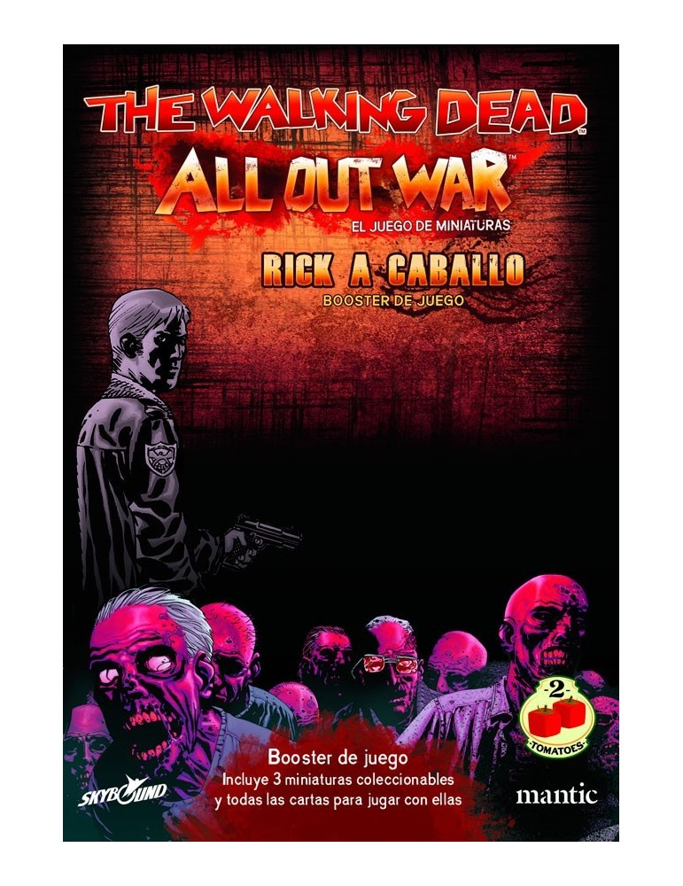 The Walking Dead: All Out War - Booster Rick a caballo