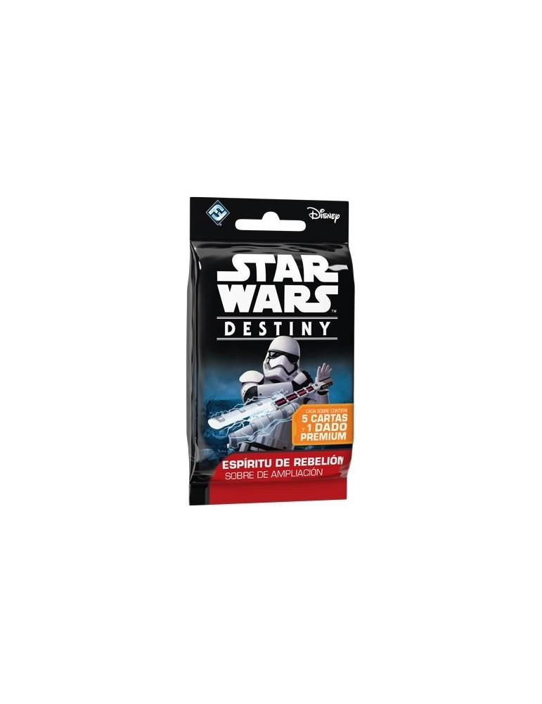 Star Wars: Destiny - Espíritu de rebelión: Sobres de Ampliación