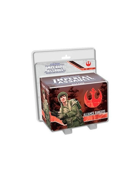 Star Wars: Imperial Assault - Alliance Rangers Ally Pack (Inglés)