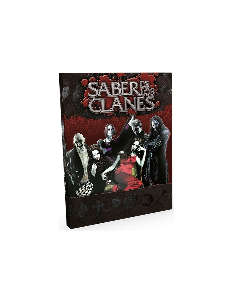 Vampiro: La Mascarada 20 Aniversario - Saber de los Clanes (Edición Deluxe)