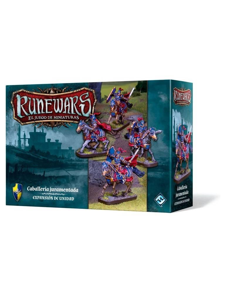 Runewars: El juego de miniaturas - Caballería juramentada