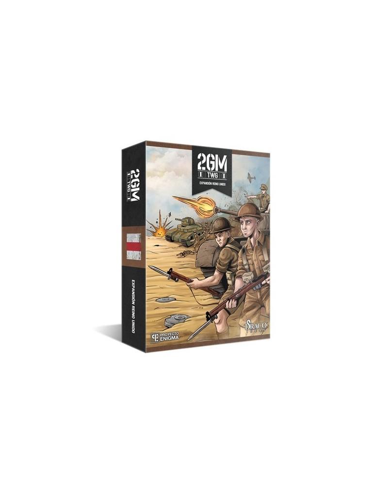 2GM Tactics: Expansión Reino Unido (Edición Kickstarter)
