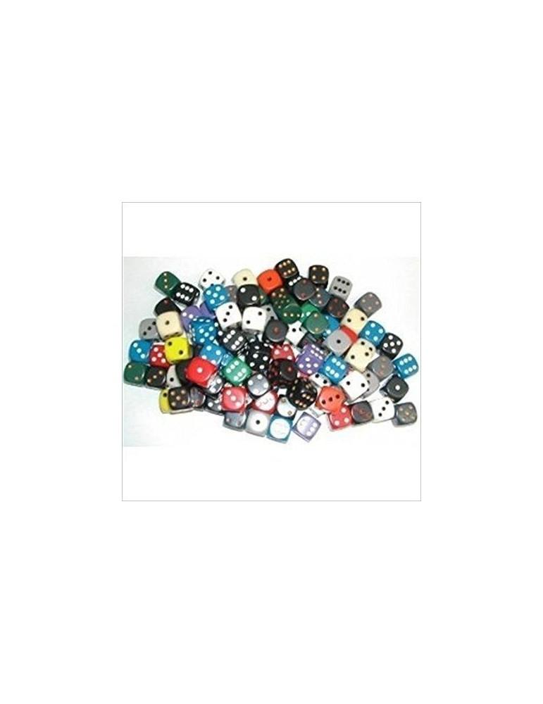 Bolsa de dados Chessex opacos 12 mm surtidos (50 unidades)