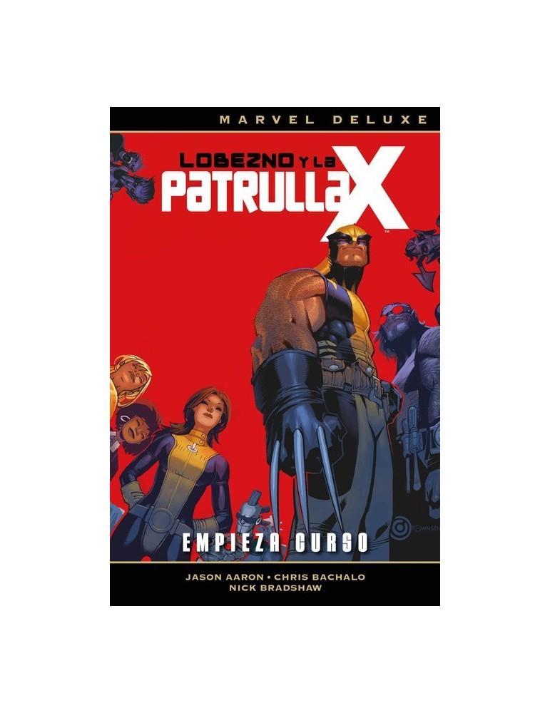 Lobezno y la Patrulla-X 1: Empieza curso (Marvel Deluxe)