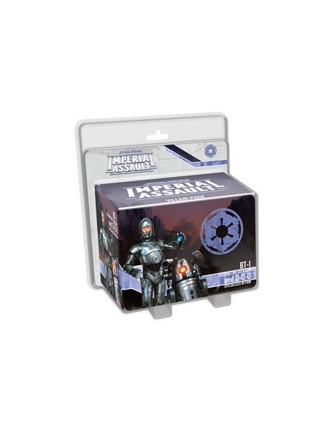 Star Wars: Imperial Assault - BT-1 and 0-0-0 Villain Pack (Inglés)