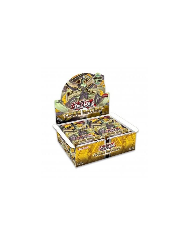 Yu-Gi-Oh! Crisis Máxima: Sobre de 9 cartas