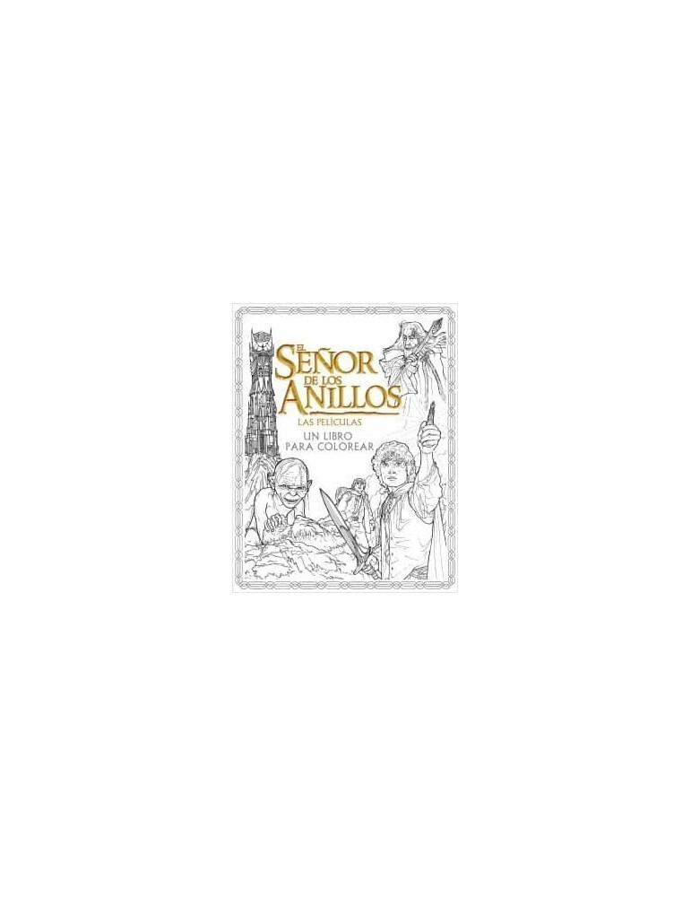 El Señor de los Anillos: Las películas - Un libro para colorear