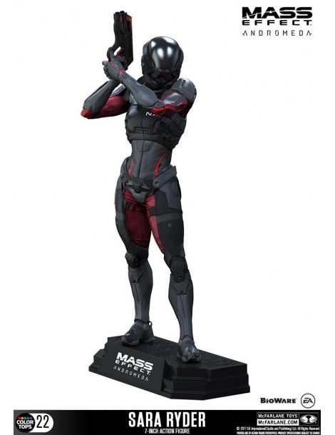 Figura Mass Effect Andromeda Color Tops: Sara Ryder 18 cm