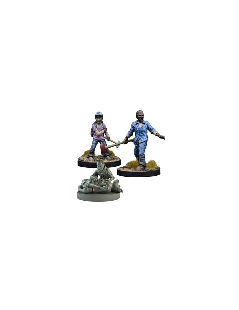 The Walking Dead: All Out War - Booster Lee y Clementine