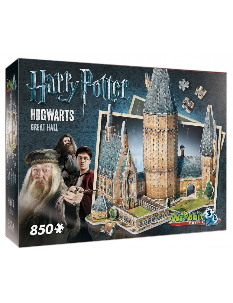 Puzle 3D Harry Potter Gran Comedor