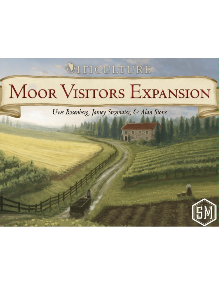 Viticulture: Moor Visitors Expansion (Inglés)