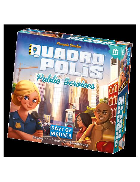 Quadropolis: Public Services (Inglés)