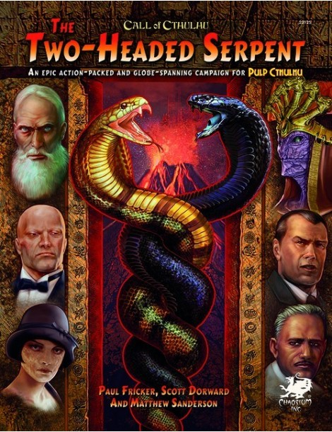 Pulp Cthulhu: The Two-Headed Serpent