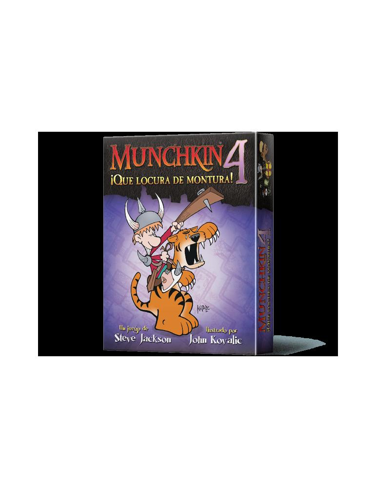 Munchkin 4: ¡Qué locura de montura! (Edición revisada)