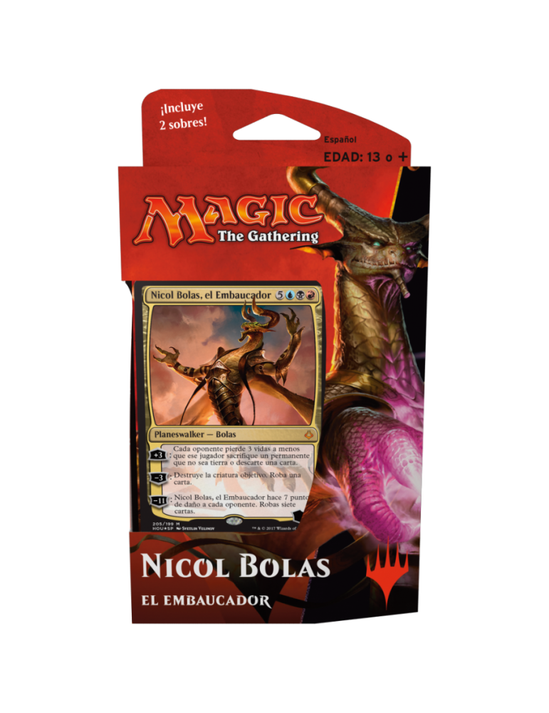 Magic: Hora de la Devastación - El embaucador (Nicol Bolas)