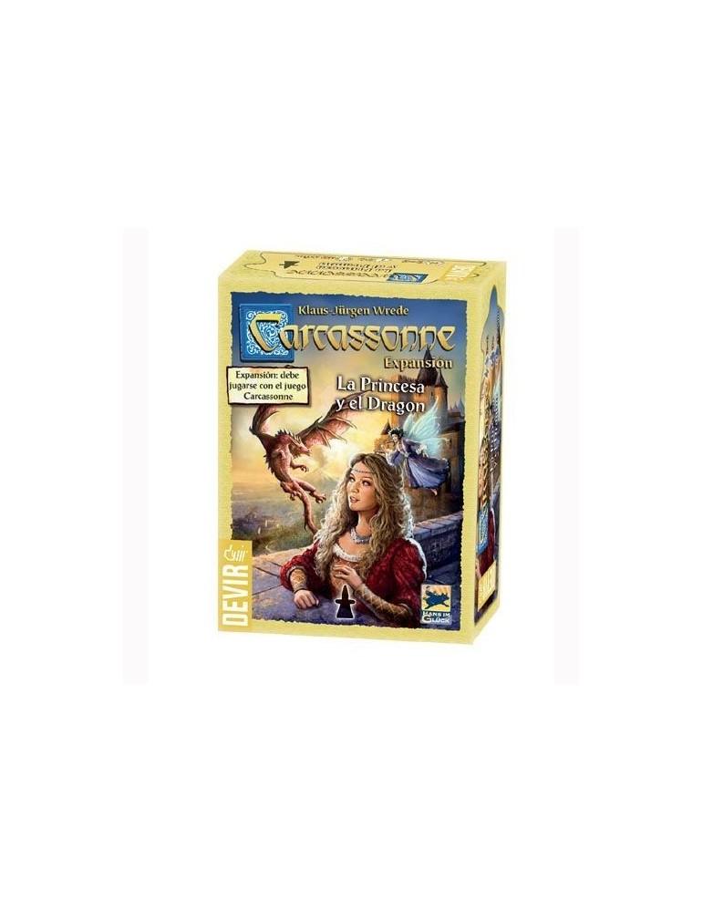 Carcassonne: La Princesa y el Dragón (Nueva Edición)