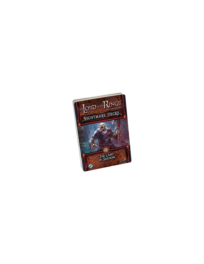 The Lord of the Rings: The Card Game - The Land of Shadow Nightmare Decks (Inglés)