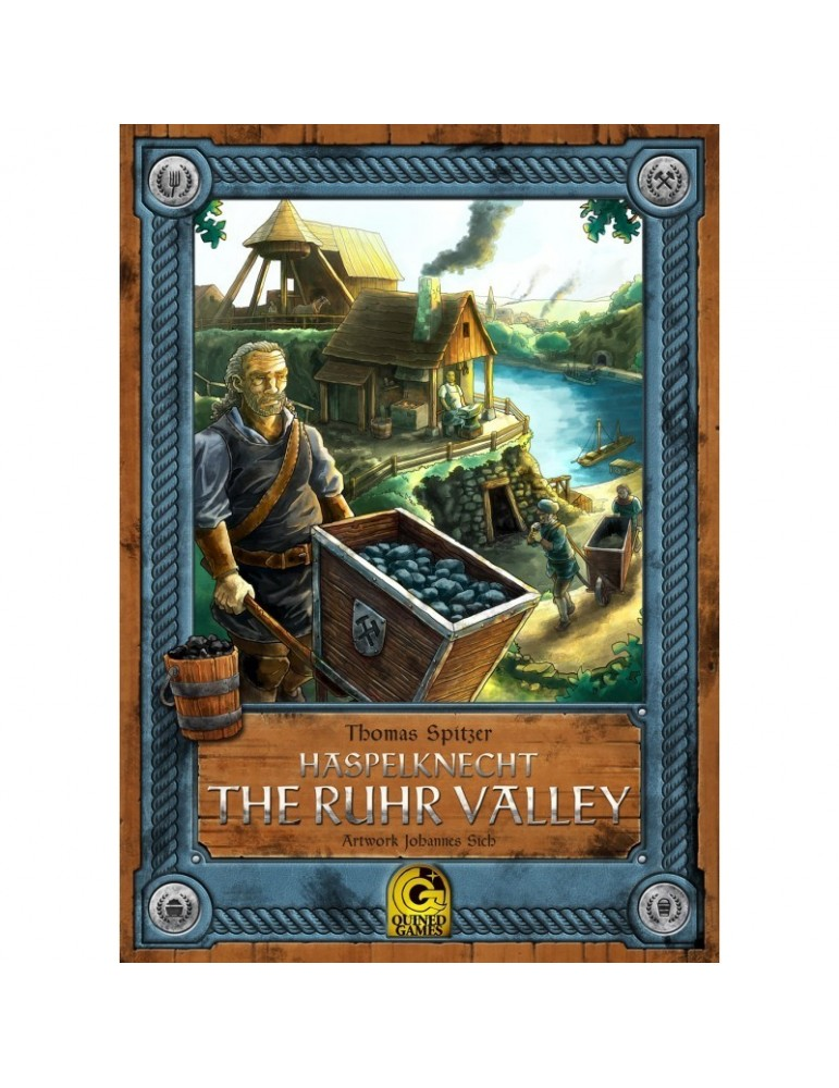 Haspelknecht - The Ruhr Valley (Master Print)